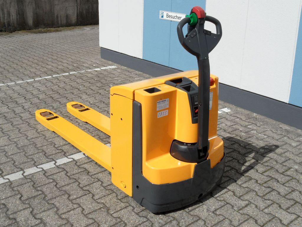 Jungheinrich-EJE 120 - 1600 mm Gabellänge - BJ 2014-Niederhubwagen-www.wilms-wiegers.de