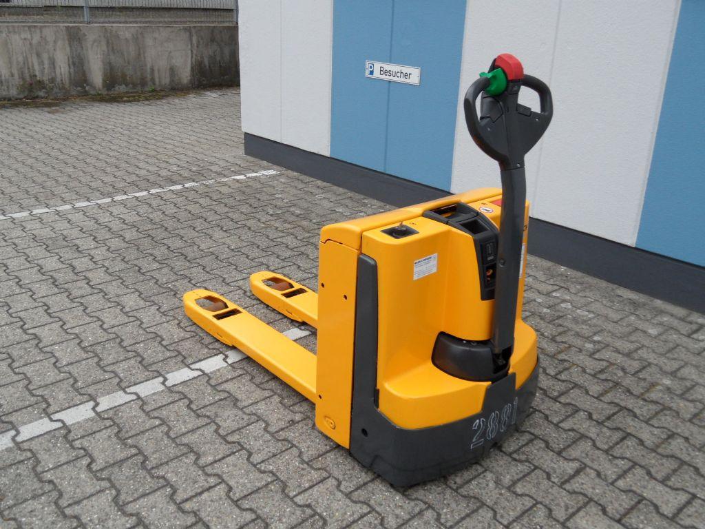 Jungheinrich-EJE 116 - NEUE Batterie - wenig Stunden!-Niederhubwagen-www.wilms-wiegers.de