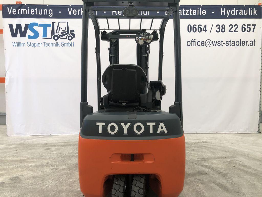 Toyota 8FBEKT16 Elektro 3 Rad-Stapler www.wst-stapler.at