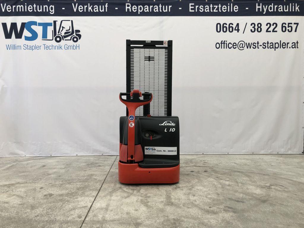Linde L10 Hochhubwagen www.wst-stapler.at