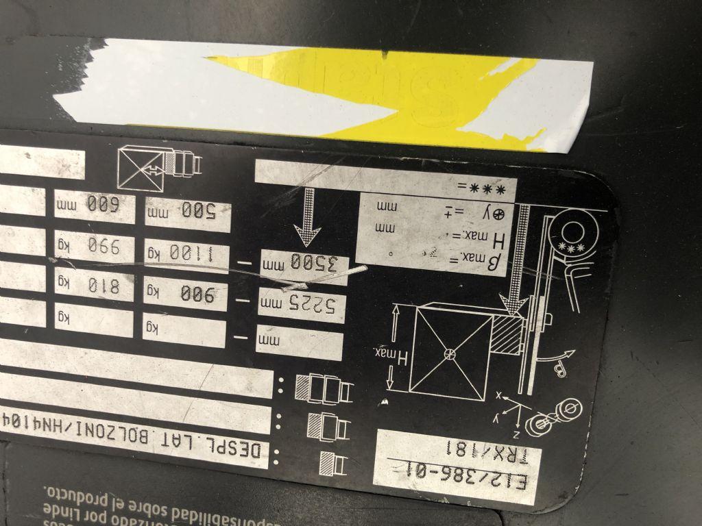 Linde E12 Elektro 3 Rad-Stapler www.wst-stapler.at