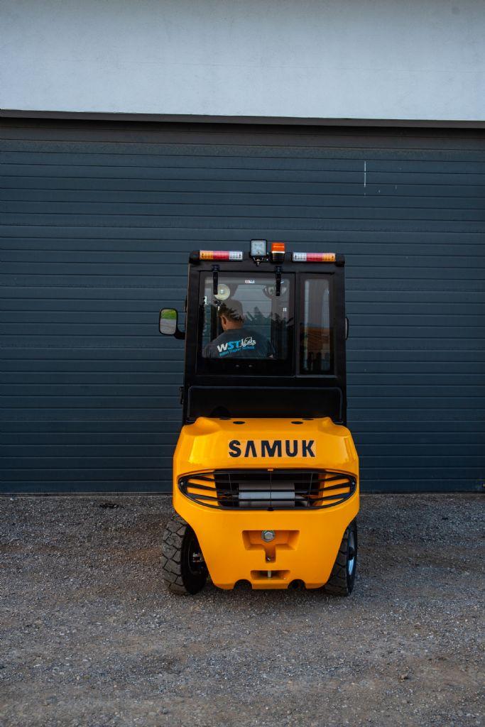 Samuk FD25T-SWV3 Dieselstapler Vollkabine Neugerät Dieselstapler www.wst-stapler.at