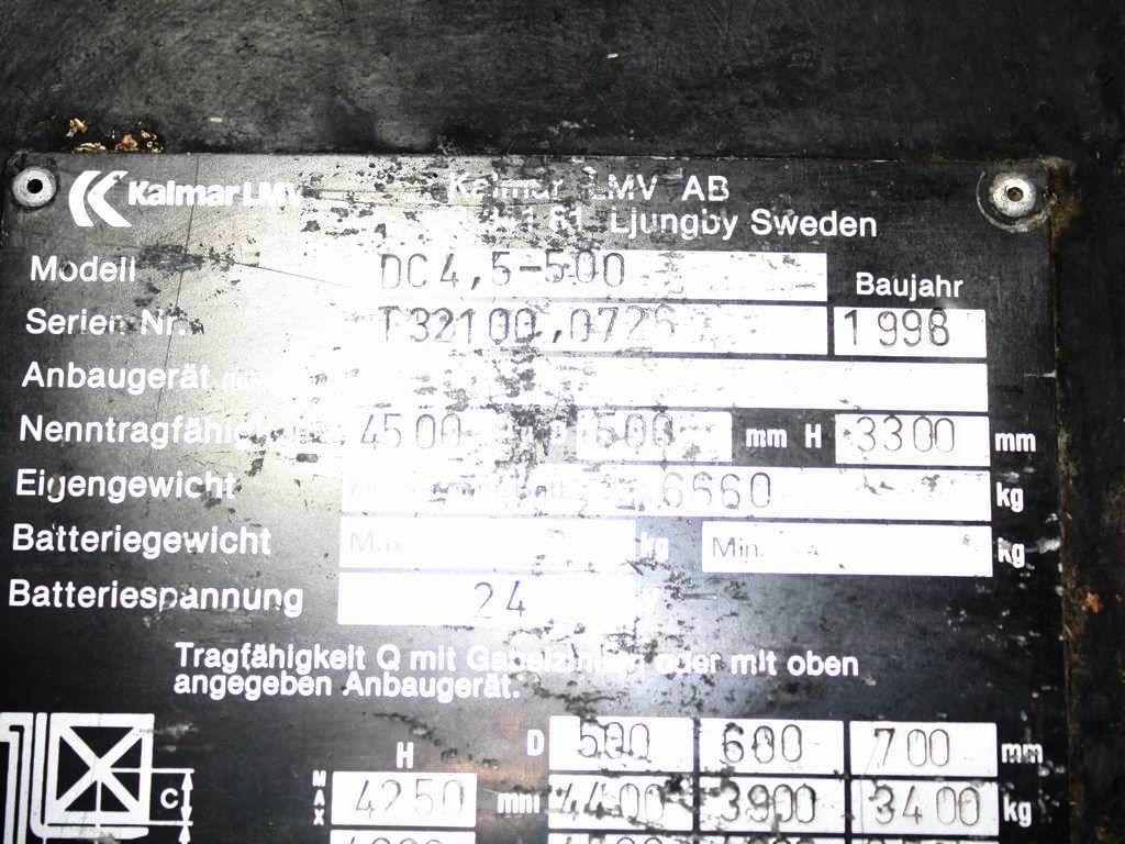 Kalmar DC 4.5-500 Dieselstapler www.wst-stapler.at