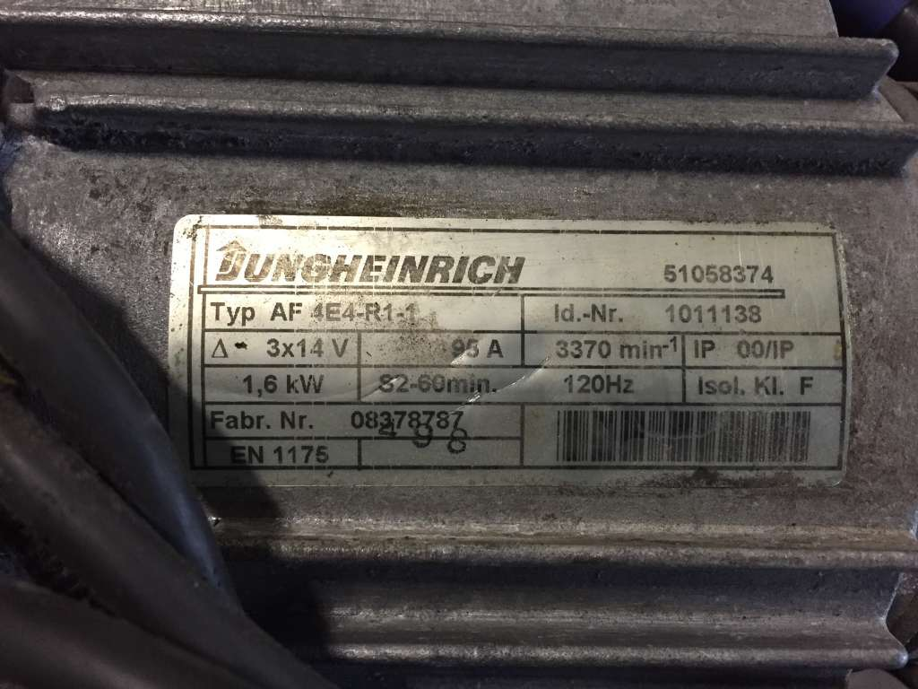 Jungheinrich ERE120 Motor www.wtrading.nl