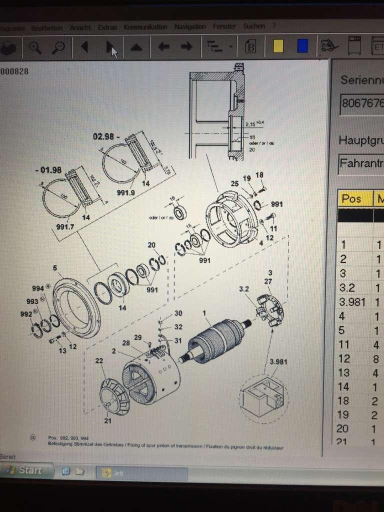 Jungheinrich ETV16 Engine www.wtrading.nl