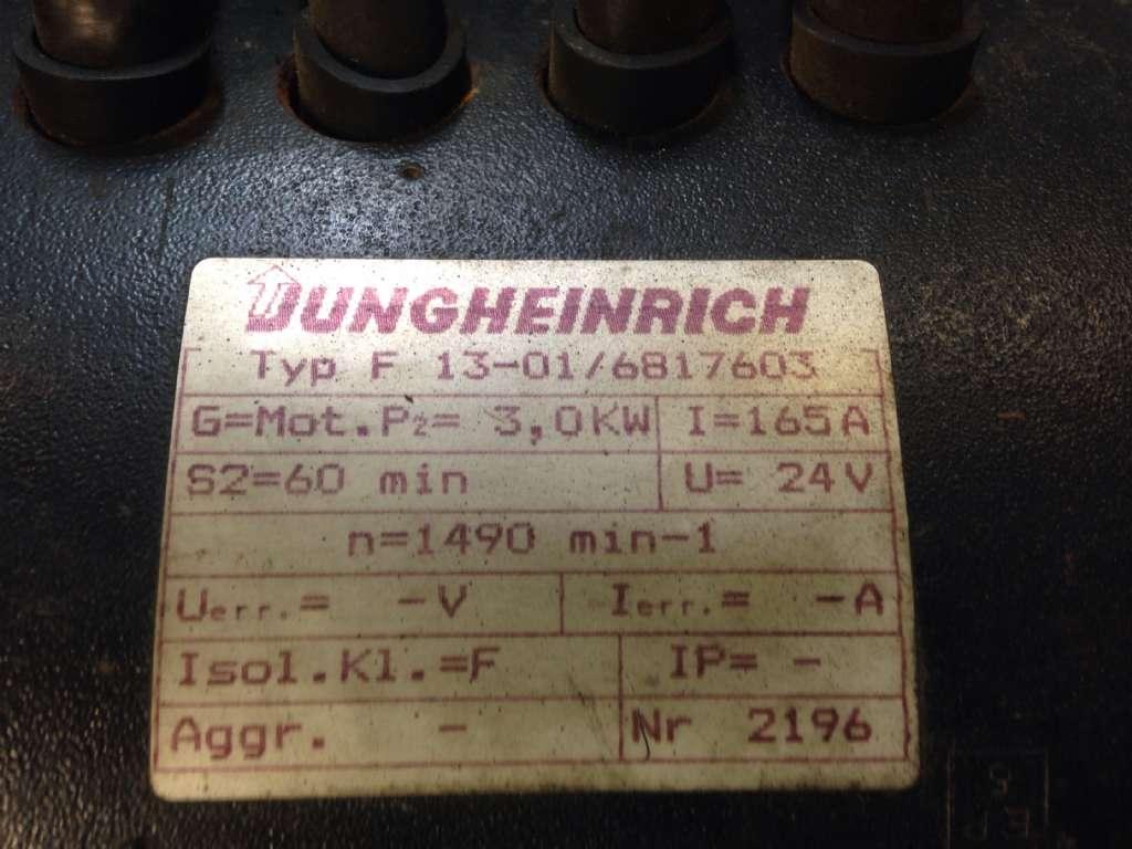 Jungheinrich ETV10G Motor www.wtrading.nl
