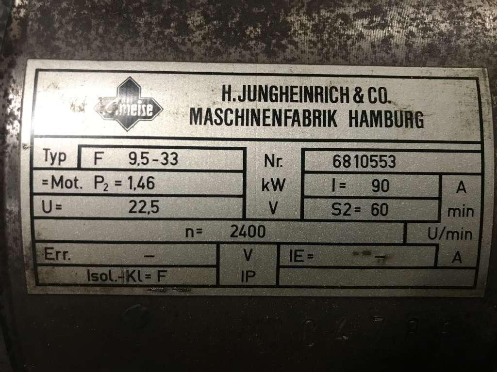 Jungheinrich EJE KMS Motor www.wtrading.nl