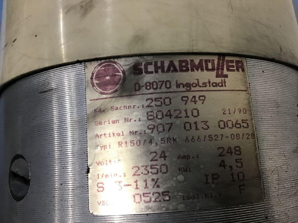 Steinbock  Schabmüller R150/4 5RK 666/527-08/28  Hydraulik www.wtrading.nl