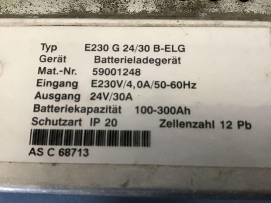 Jungheinrich E230 G 24/30 B-ELG Ladegerät www.wtrading.nl