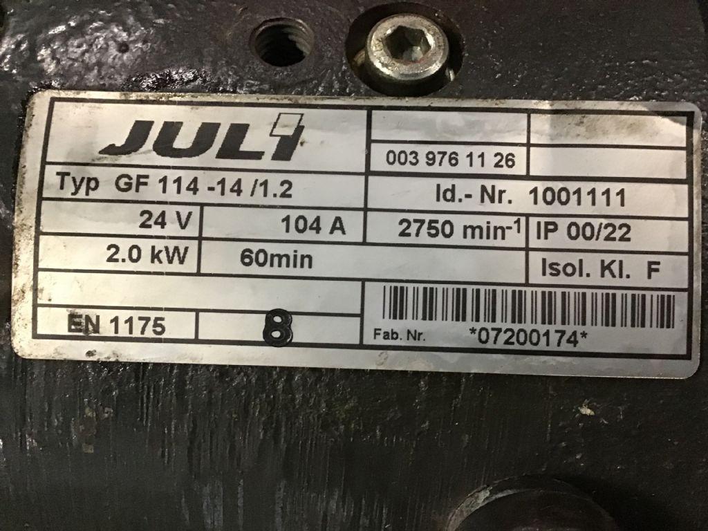 Linde GF 114-14/1.2 Elektromotoren und Ersatzteile www.wtrading.nl