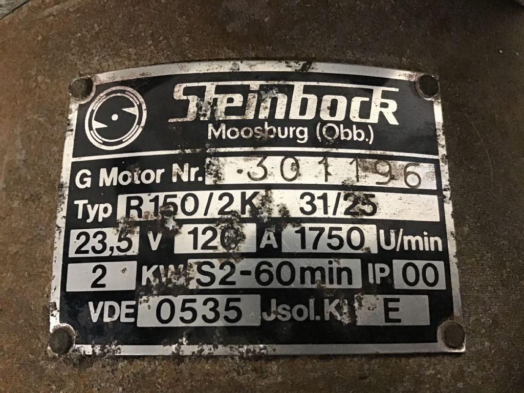 Steinbock EFG1 Elektromotoren und Ersatzteile www.wtrading.nl