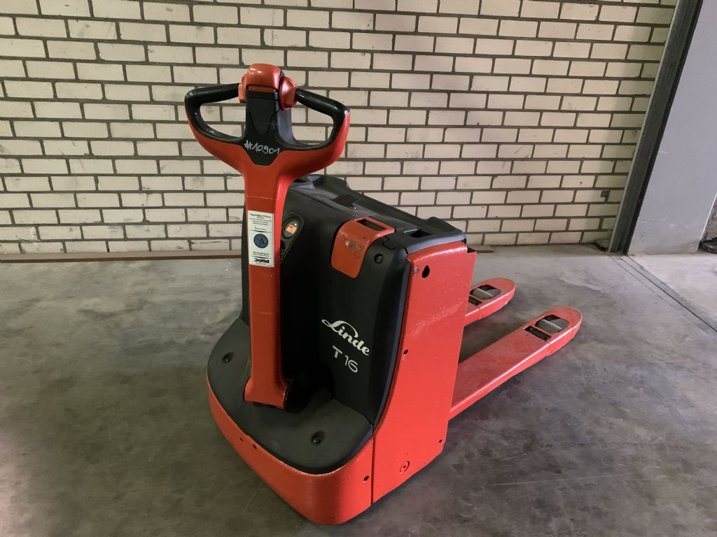 Linde T16 1152 Electric Pallet Truck www.wtrading.nl