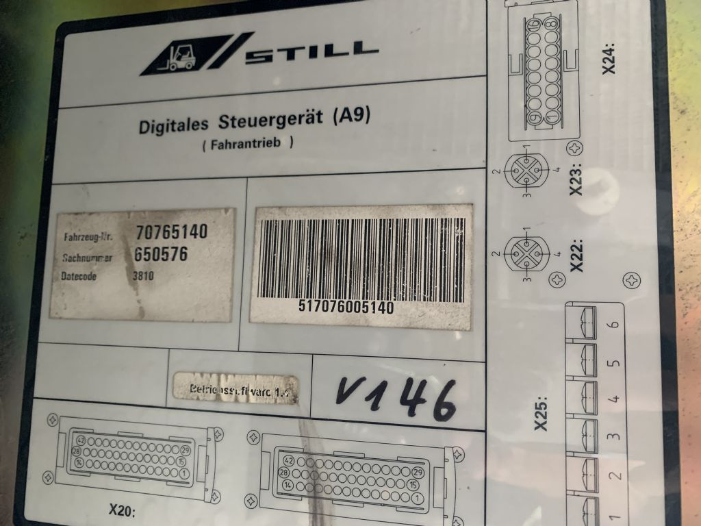 Still R70 7074-7076D 7077-7079 Electrical controls and components www.wtrading.nl