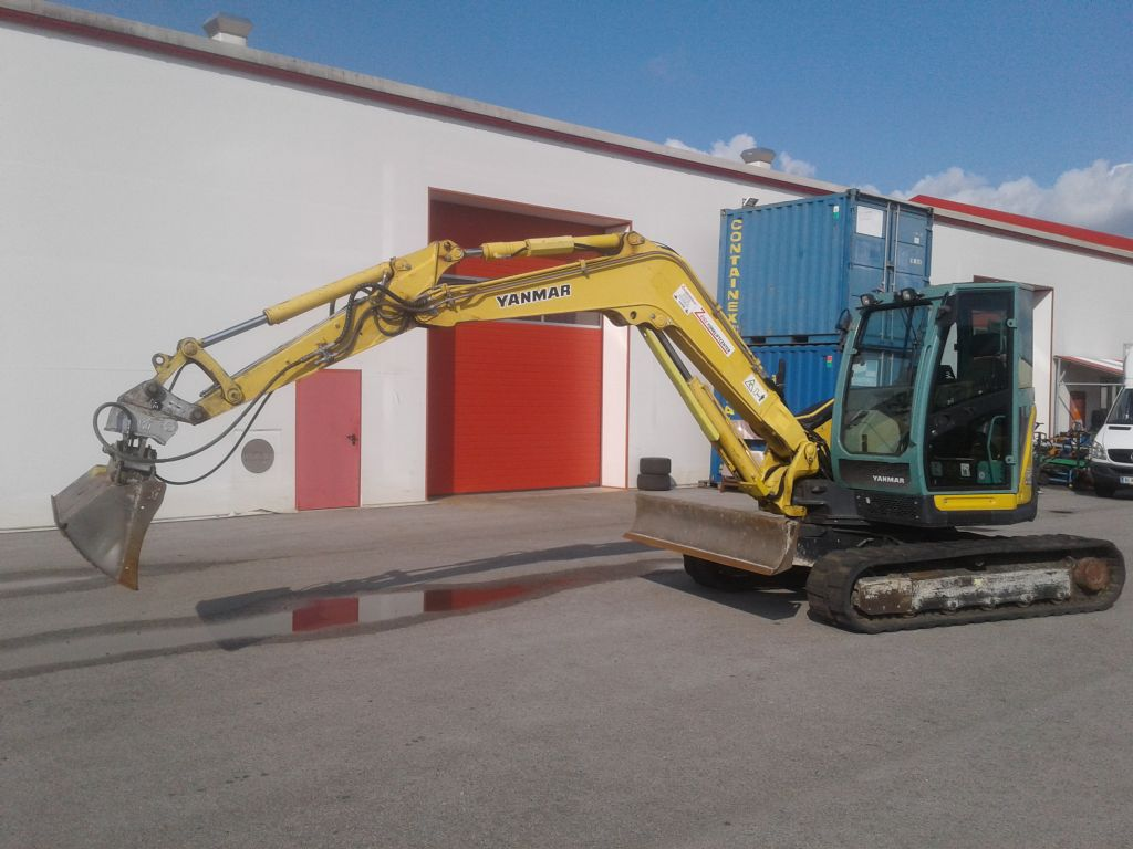 Yamaha-VIO 80 - U-Minibagger www.zeiss-forkliftcenter.at