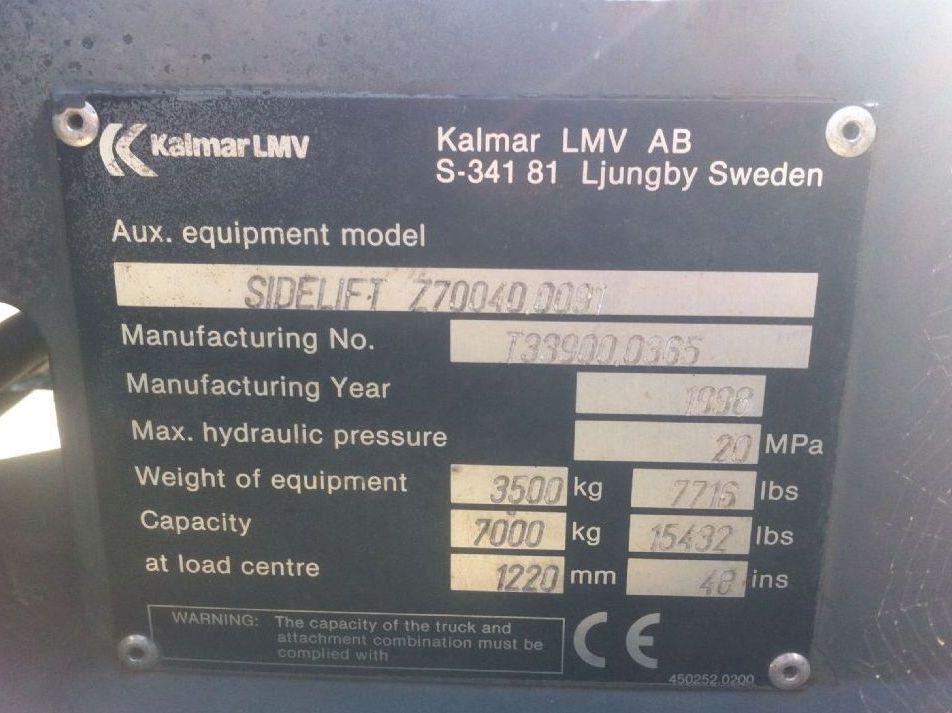 Kalmar-20-40 Seitenspreader Z70040.0091-20' Seiten-Spreader www.zeiss-forkliftcenter.at
