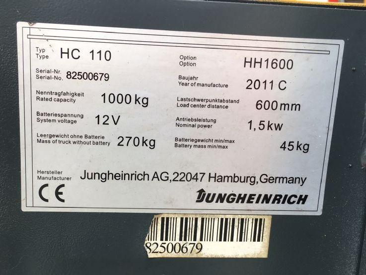 Jungheinrich-HC110-Hochhubwagen www.zeiss-forkliftcenter.at