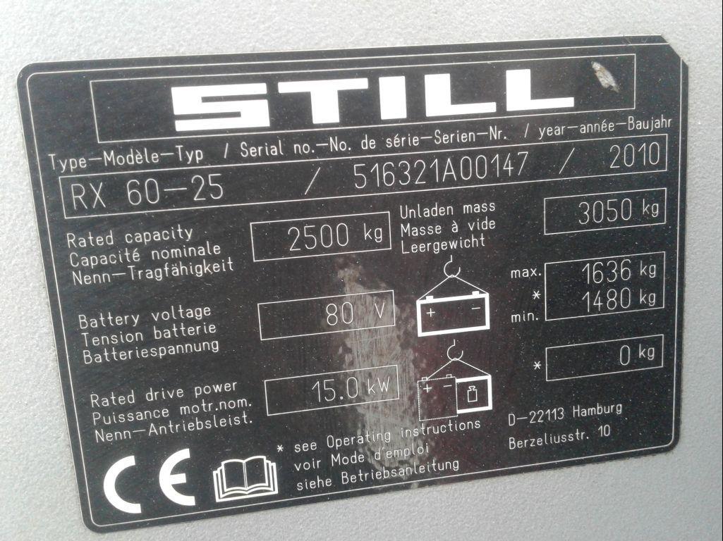 Still-RX60-25-Elektro 4 Rad-Stapler www.zeiss-forkliftcenter.at
