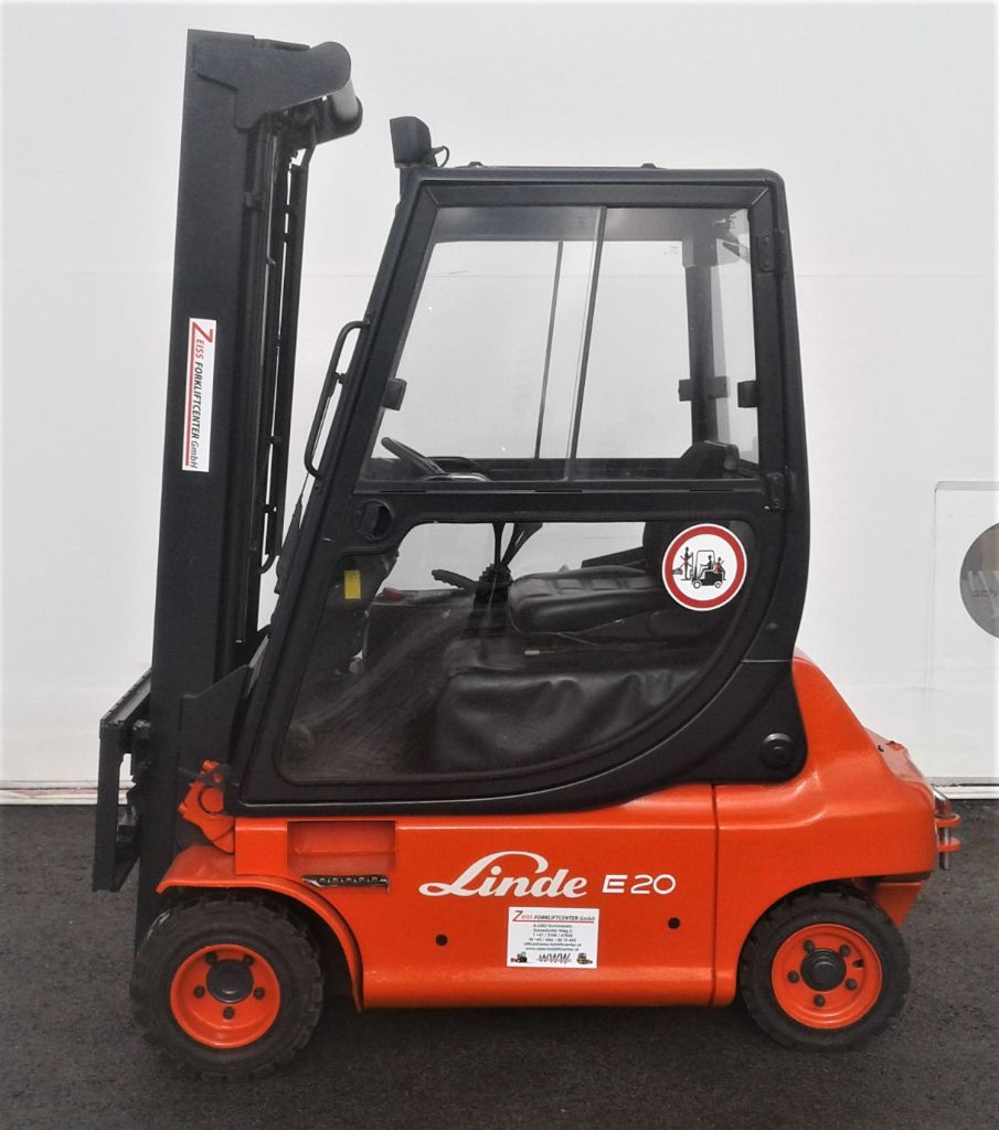 Linde-E20P     -Elektro 4 Rad-Stapler www.zeiss-forkliftcenter.at