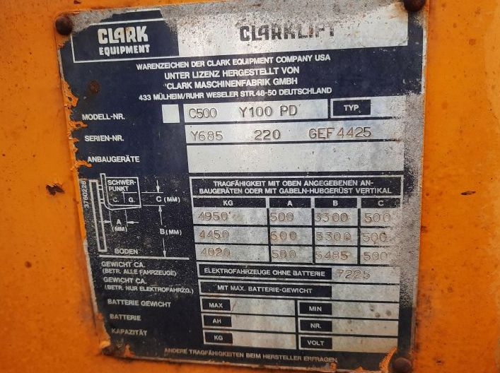 Clark-C500Y100PD-Dieselstapler www.zeiss-forkliftcenter.at