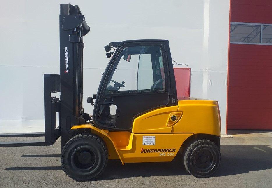 Jungheinrich-DFG550-Dieselstapler www.zeiss-forkliftcenter.at
